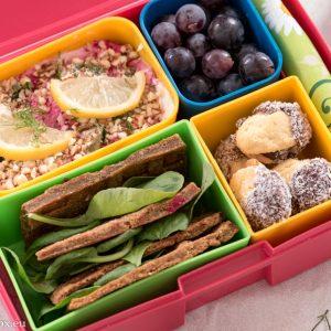 Lunchbox menu тартар от цвекло