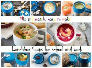 Lunchbox термос за супи за училище - размесвай и комбинирай