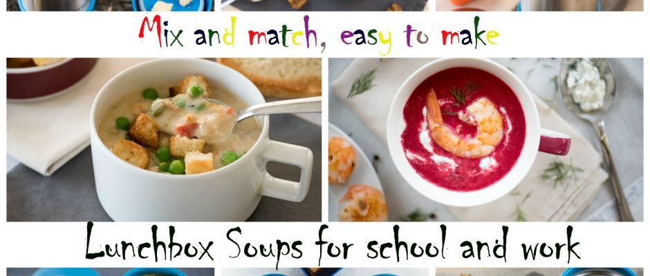 Lunchbox Soups mix and match