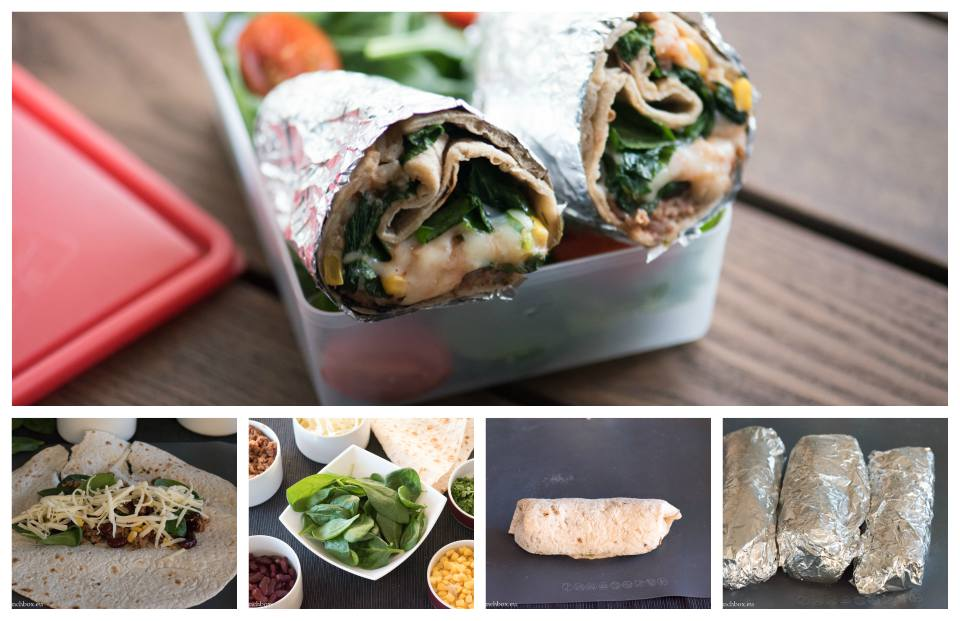 Burritos for Lunchbox