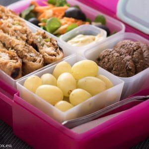 Lunchbox меню: Каседили на фурна