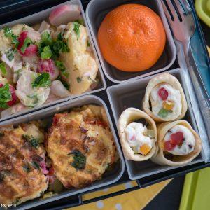 lunchbox menu омлет-гофрет