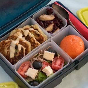 Lunchbox menu - бургери със сирене