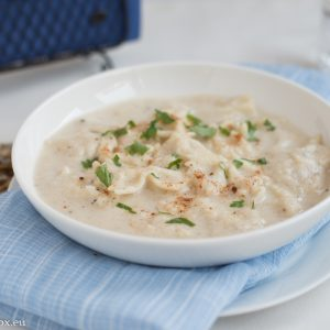 супа с карфиол и фарфале
