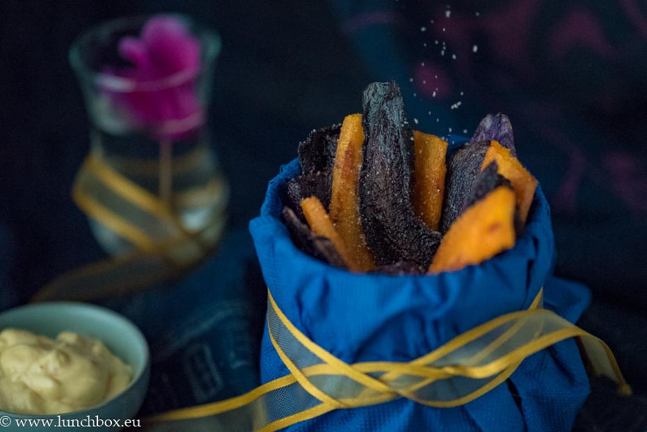 цветен чипс от кореноплодни