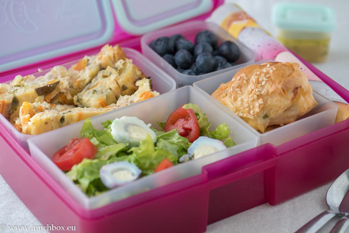 Lunchbox Тарта със спирализирани кореноплодни