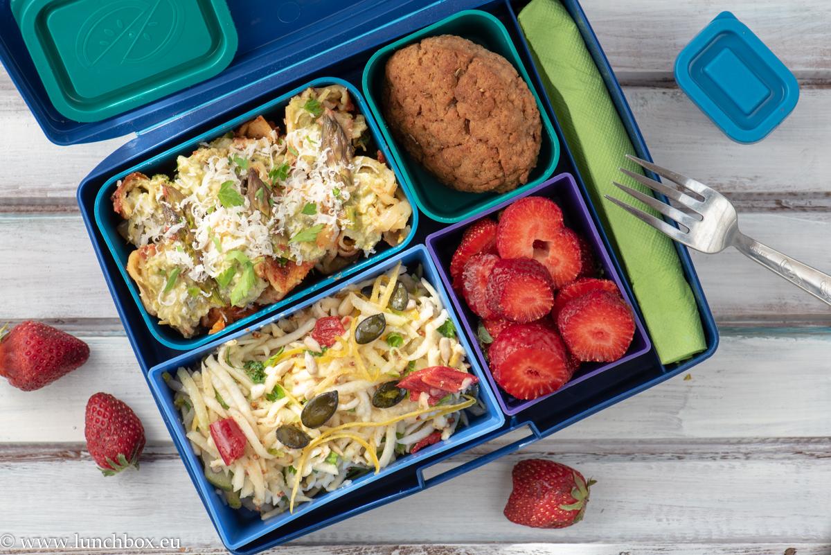 Lunchbox menu-kaneloni-s-asperji