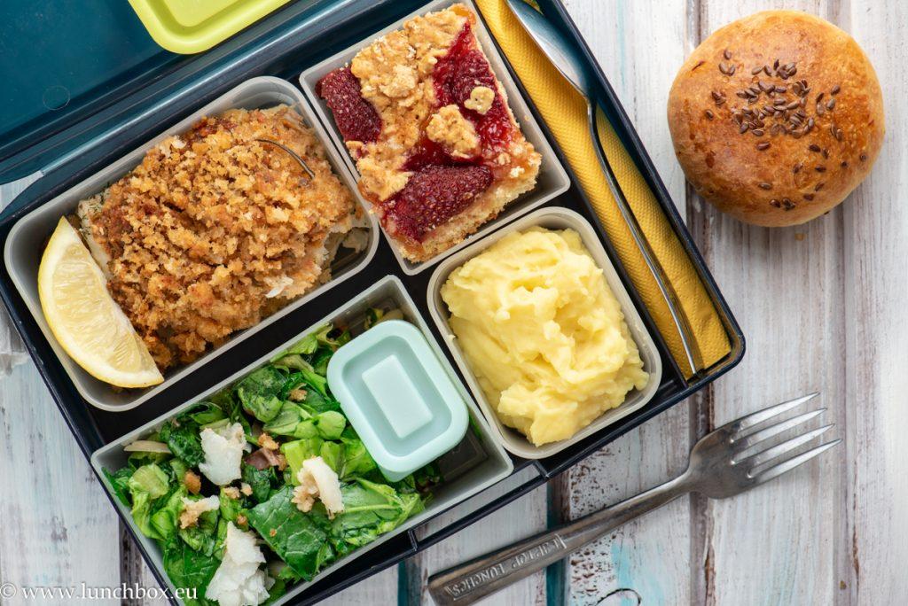 Lunchbox menus риба треска