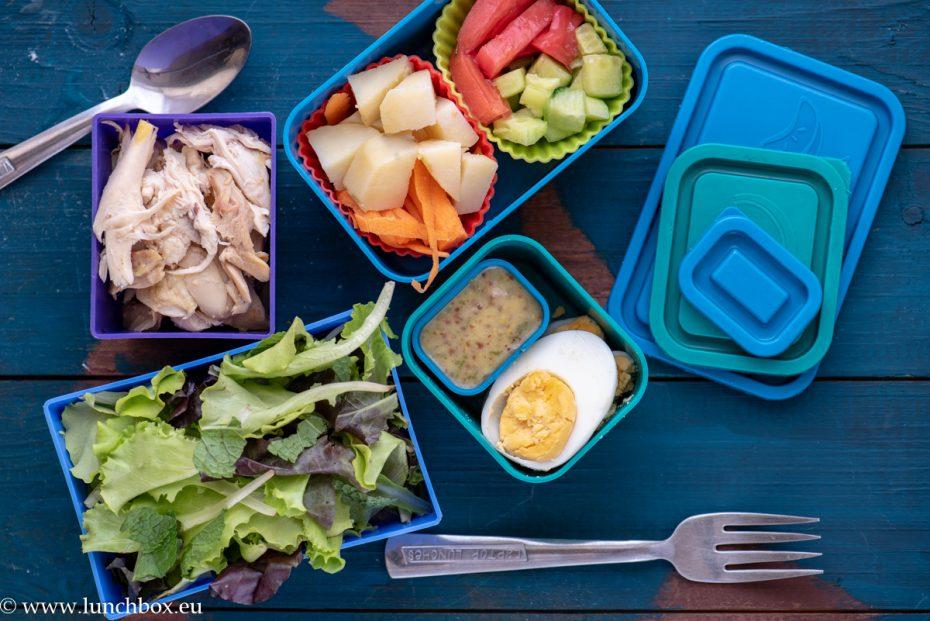 От вечерята в кутията за храна Lunchbox