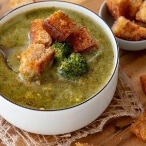 Супа от броколи и джинджифил, за концентрация