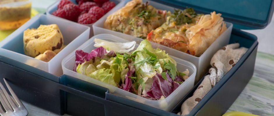 Lunchbox меню Киш с тиквички