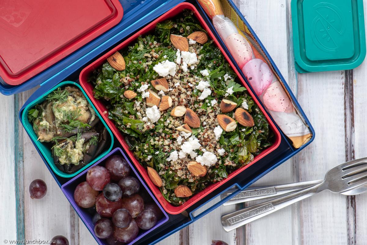 Lunchbox menu kale salad