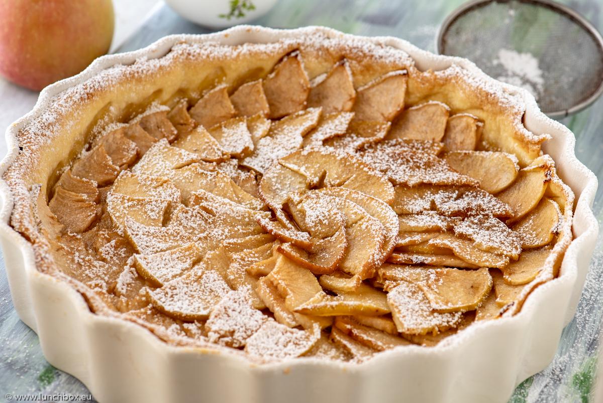 Френски ябълков пай