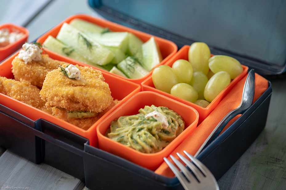 Lunchbox Пилешки хапки с корнфлейкс