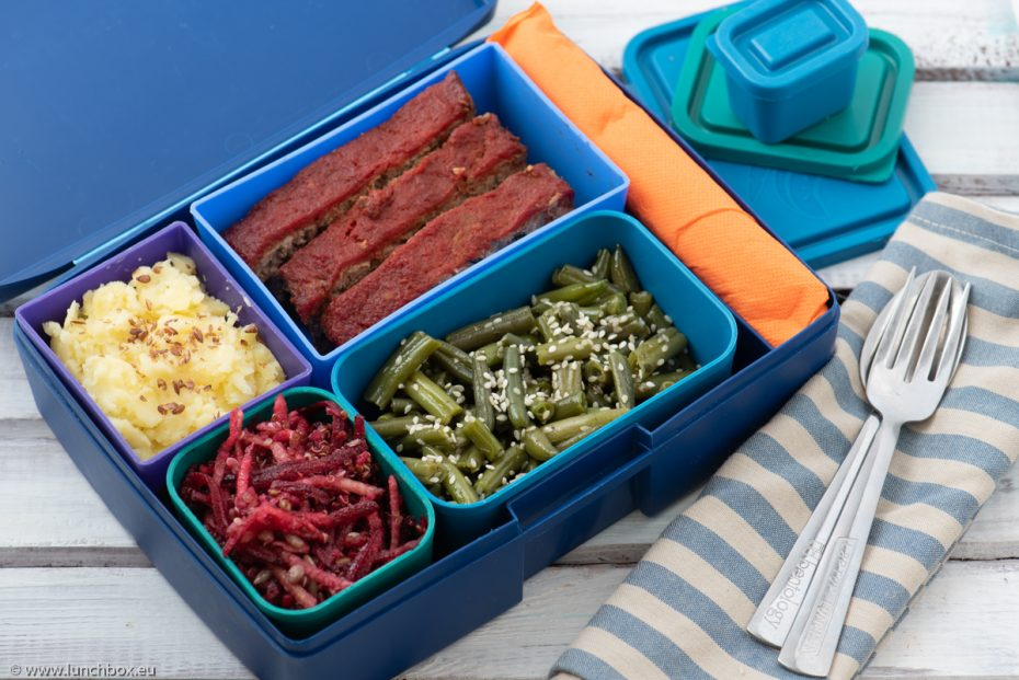 Lunchbox menu Meatloaf