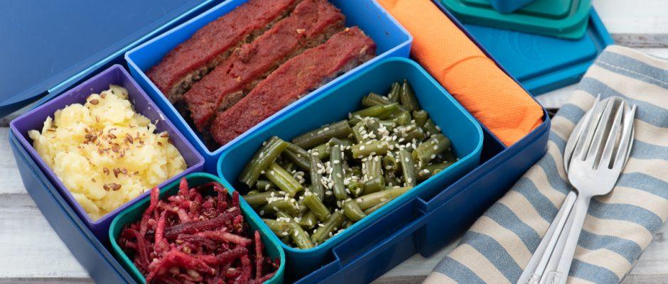 Lunchbox menu Meatloaf