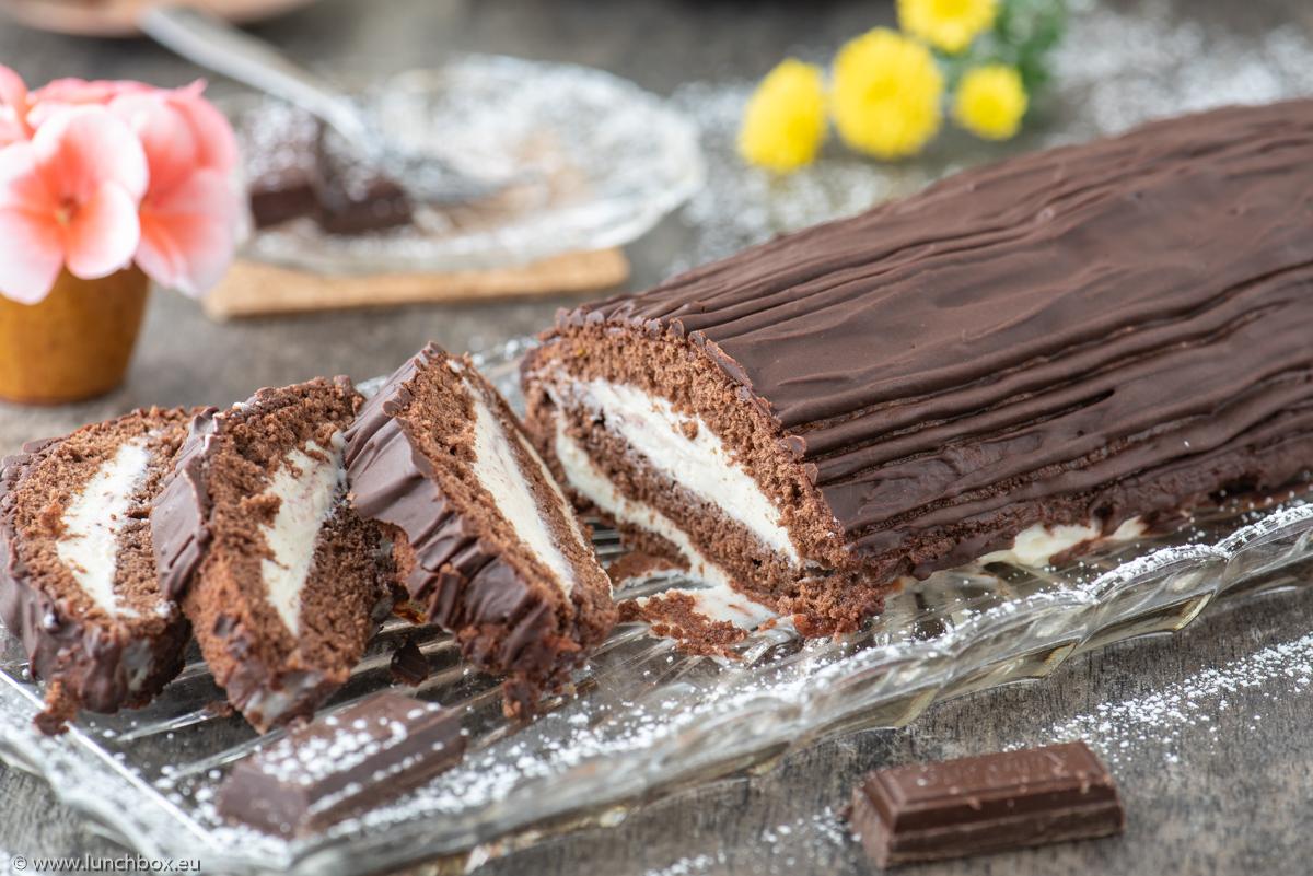 Шоколадово руло с рикота