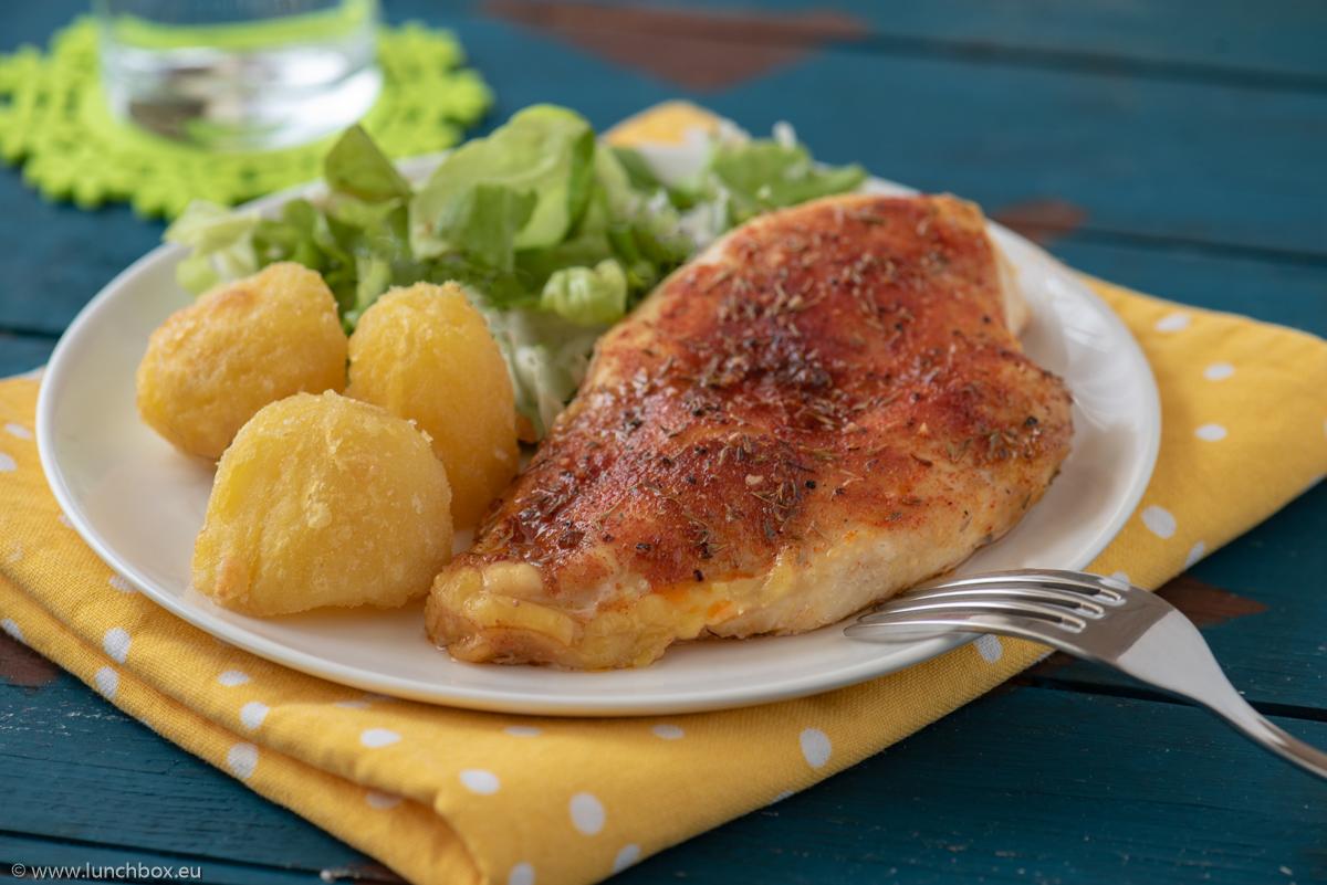Пилешки гърди на фурна