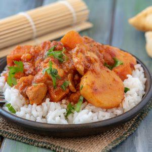 Lunchbox Chicken Shaumra Stew