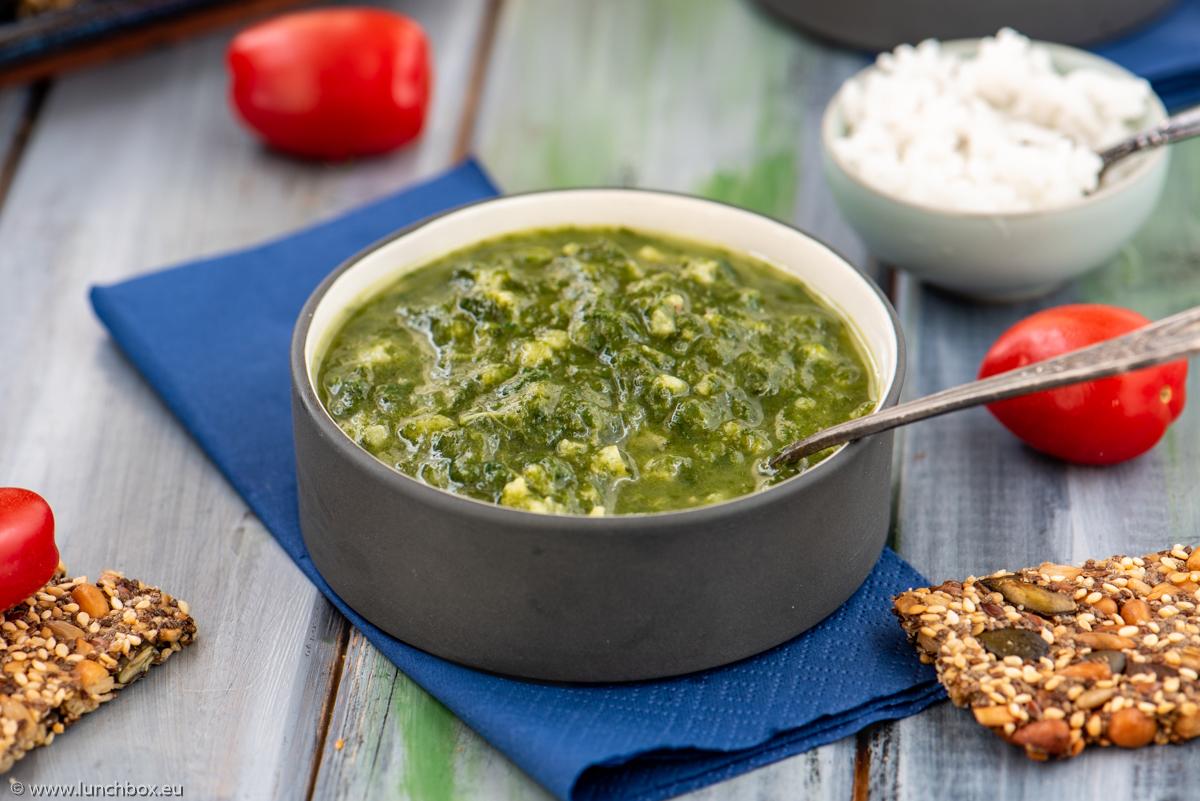 Супа от коприва и спанак