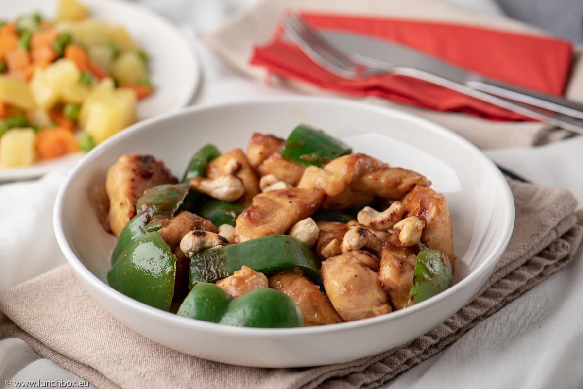 Китайско пилешко с кашу