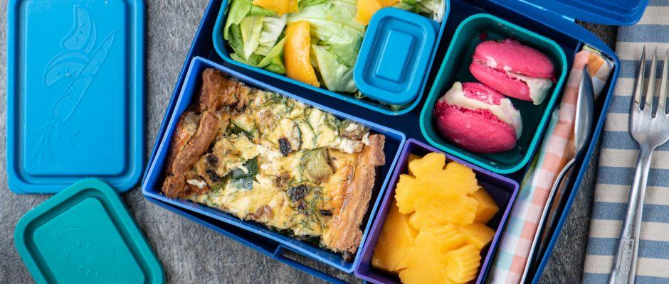 Lunchbox menu Quiche
