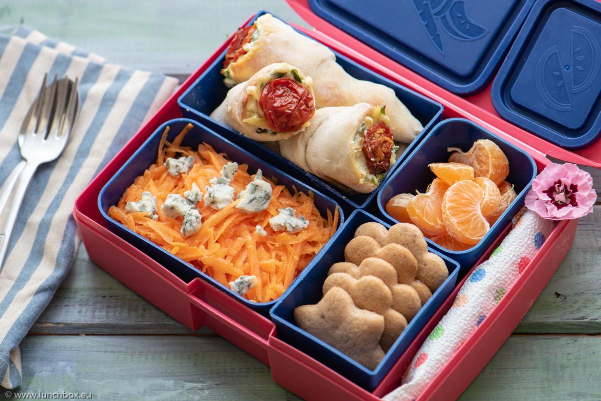 Lunchbox Пица във фунийка