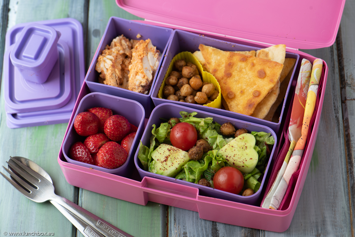 Lunchbox Салата с нахут и тахан