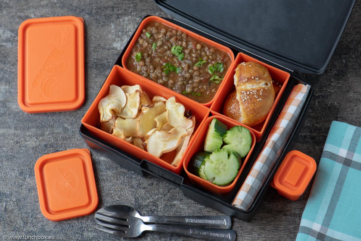 Lunchbox lentils