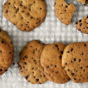 Бисквити с шоколад (Cookies))