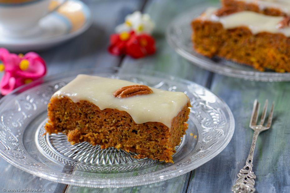 Кейк с моркови, без глутен