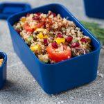 Quick Quinoa Salad with Veggies