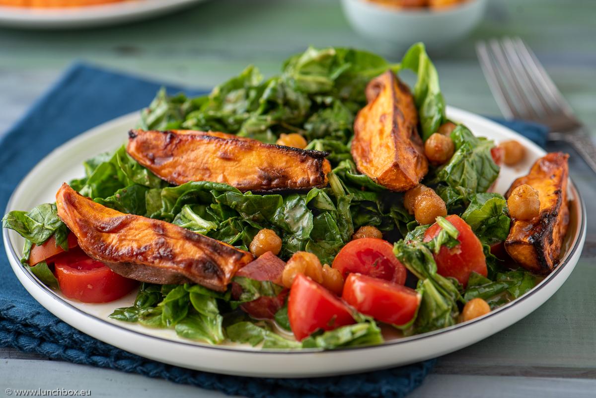 Sweet Potato Fall Salad