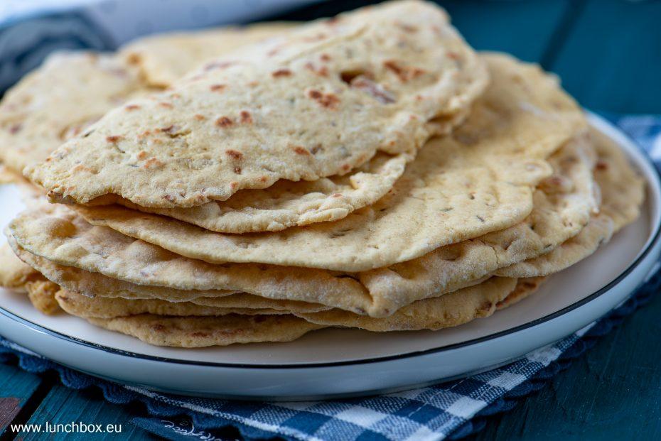 Арабска питка с нахут