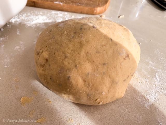 Арабска питка с нахут и ядки