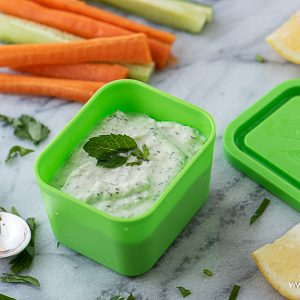 The perfect dip for summer vegetables